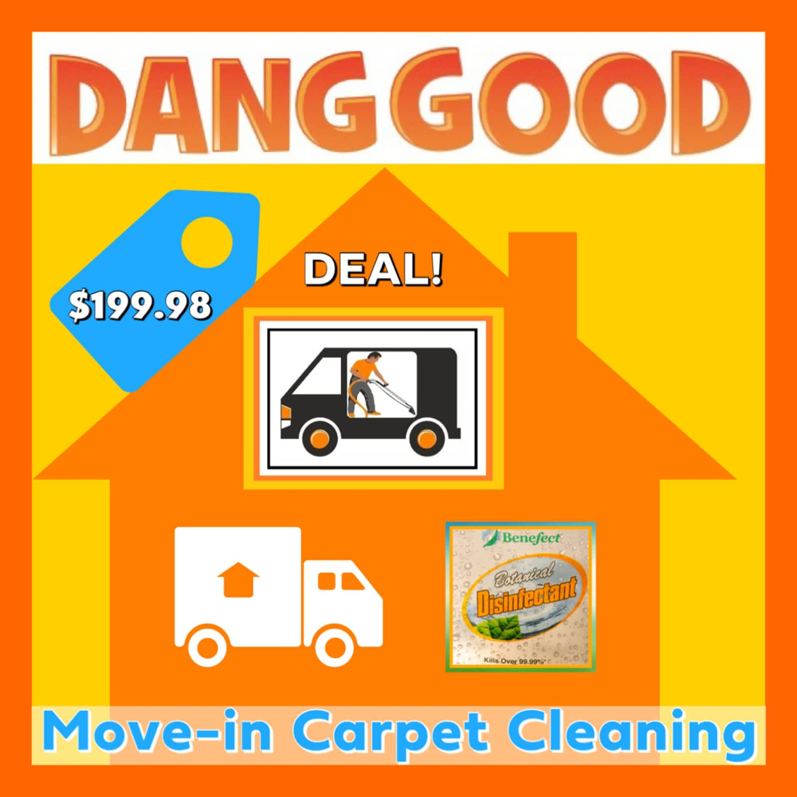 Dang Good Carpet and Furnace Cleaning
