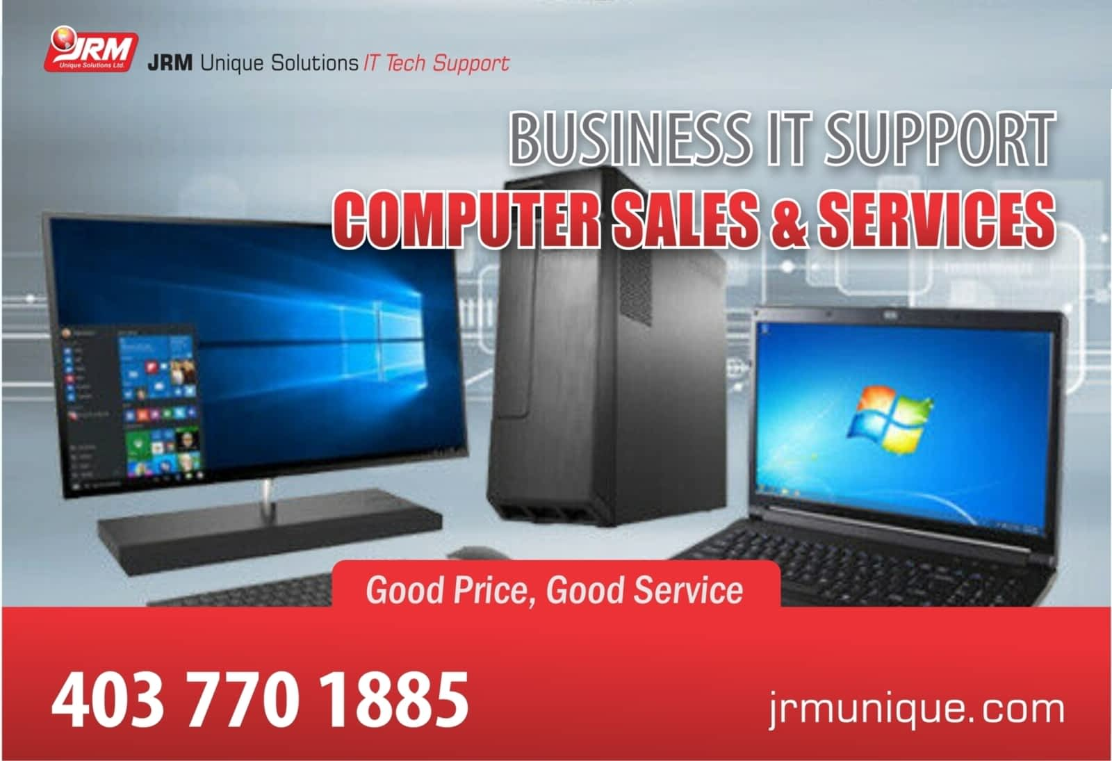 JRM Unique Computer Solutions